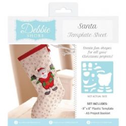 Debbie Shore Template Sheet - Santa